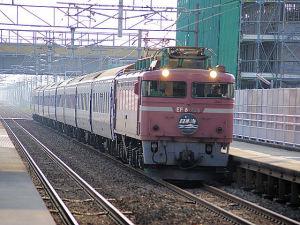 40002レ 日本海 EF81 108