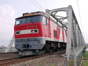 3092レ 手取川橋梁にて