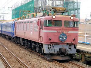 4002レ「日本海」 EF81 108
