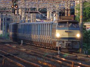 6170レ EF66 23+ワム31両