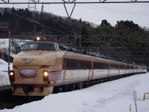 1012M「はくたか12号」 489系H01編成(倶利伽羅)