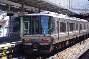 快速「大阪行き」