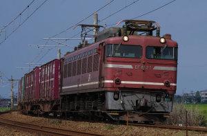 3097レ EF81 27(美川ー加賀笠間)